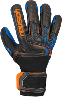 Reusch Attrakt G3 Fusion Evolution NC Guardian 5070969 7083 black blue orange front